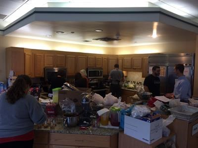 am higley helping out at ronald mcdonald house